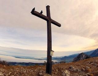 Gipfelkreuz des Zwiesel © Gipfelfieber.com
