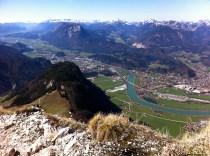 Blick ins Inntal und Kufstein © Gipfelfieber.com