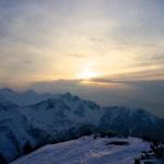 Sonnenuntergangsstimmung über dem Estergebirge © Gipfelfieber.com