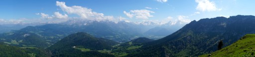 Vom Dachstein (links) bis zum Watzmann © Gipfelfieber.com