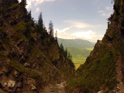 Steile Rinne © Gipfelfieber.com