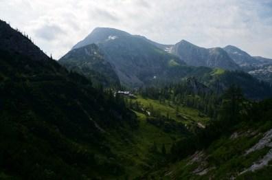 Erster Blick auf Schneibstein und Schneibsteinhaus © Gipfelfieber.com