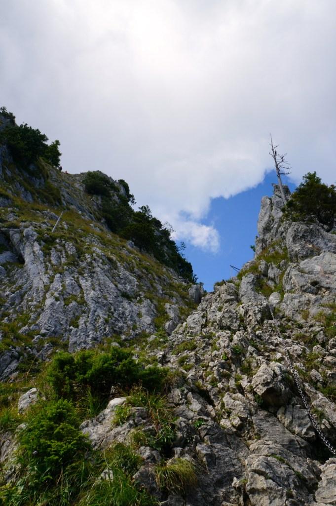 Am Fuß des Klettersteigs © Gipfelfieber.com