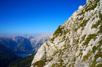 Kurze versicherte Passage © Gipfelfieber.com