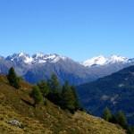 Blick in Richtung des Alpenhauptkamms im Nationalpark © Gipfelfieber.com