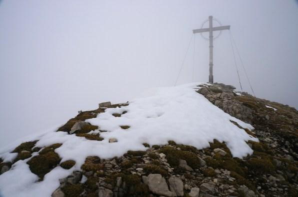 Gipfelkreuz Geierkopf - Westgipfel © Gipfelfieber.com