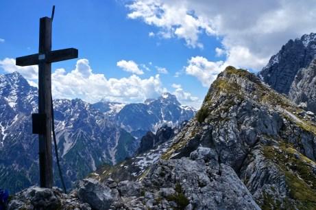 Das Gipfelkreuz am Steinberg © Gipfelfieber.com