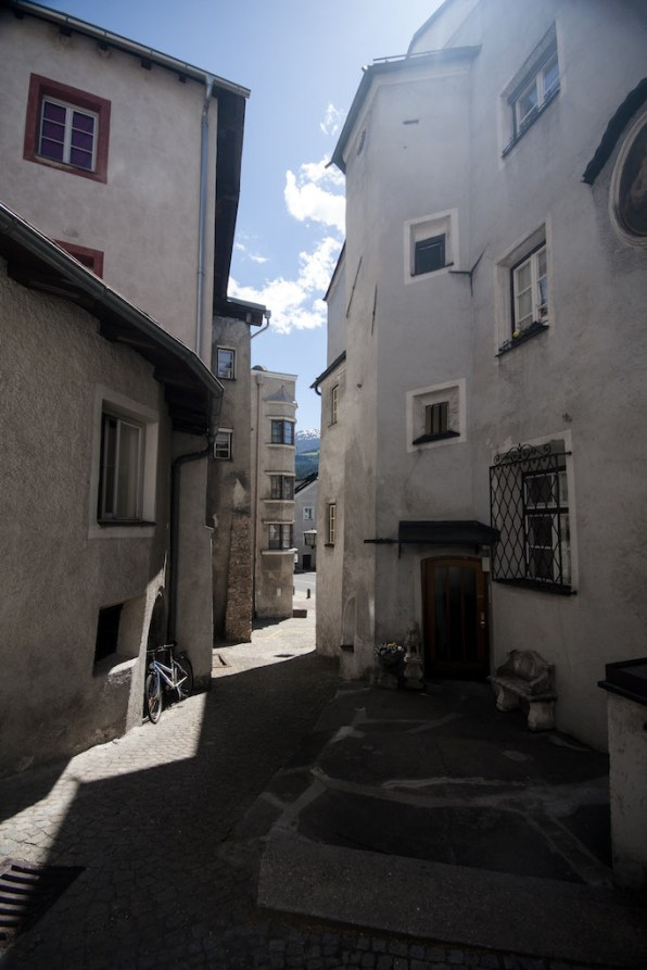 Gasse in Hall © Gipfelfieber.com