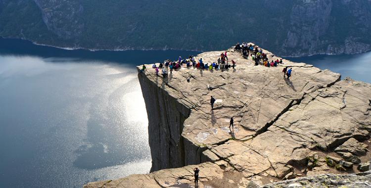 Norwegens Wahrzeichen: Die Wanderung zum Preikestolen