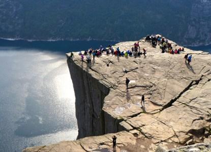Norwegen - Hike zum Preikestolen © Gipfelfieber.com