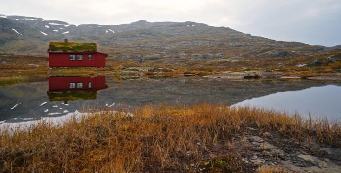 Wandern in Norwegen: Vom Langfoss-Wasserfall zur Simlebu-Hütte © Gipfelfieber.com