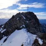 Die letzten Meter zum Gipfel der Kreuzspitze © Gipfelfieber.com