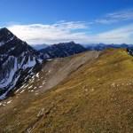 Blick zurück zur Kreuzspitze © Gipfelfieber.com