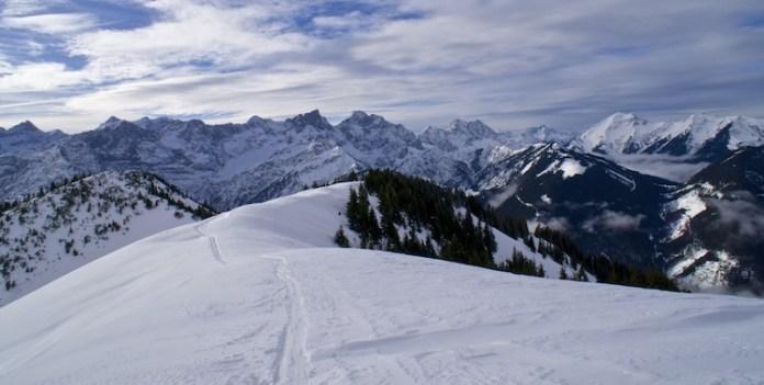 Skitour auf das Schönalmjoch: Wenn Pech und Unglück zusammen kommen