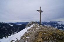 Das Gipfelkreuz vom Roßstein © Gipfelfieber.com