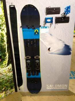 Das dreiteilige Splitboard von Salomon © Gipfelfieber.com