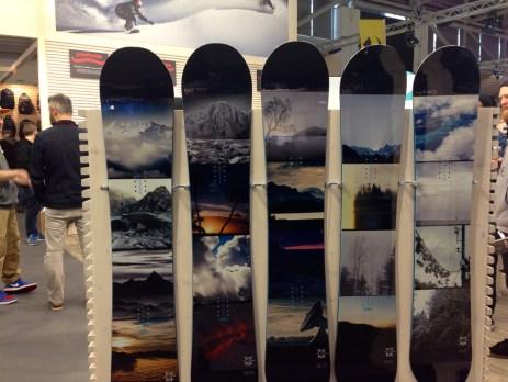 Schicke Boards aus dem Hause Nitro - mit dem Watzmann © Gipfelfieber.com