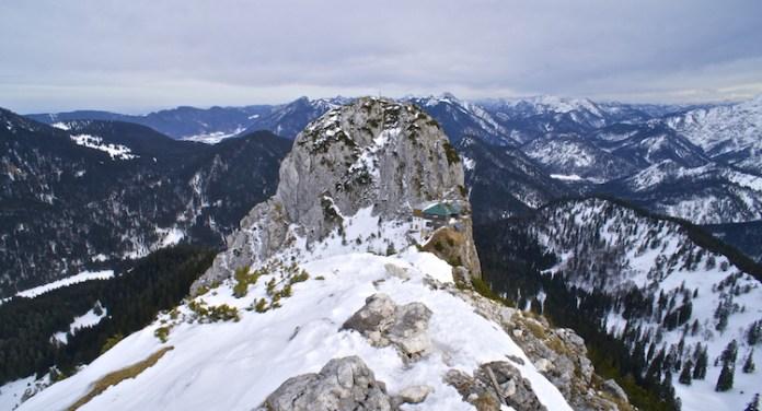 Roß- und Buchstein im Winter: Stille zum Anfassen