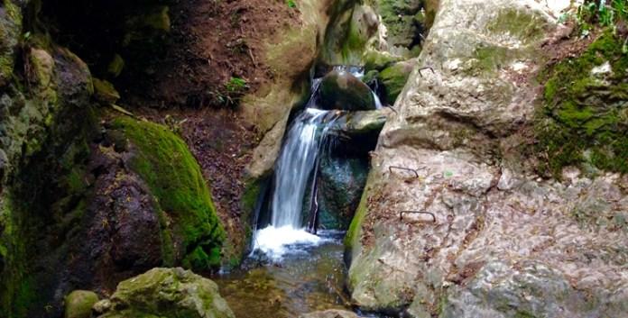 Durch die Schlucht: Der Rio Sallagoni Klettersteig