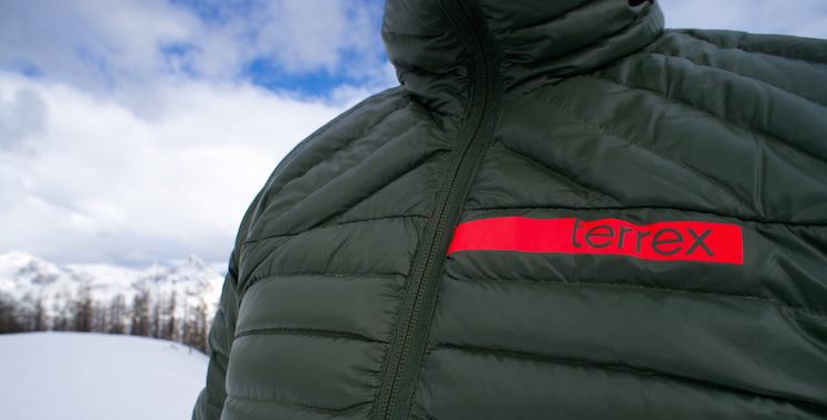 7e715ac0ec08 Daunenjacke im Test  Adidas Terrex Downblaze Jacket © Gipfelfieber.com