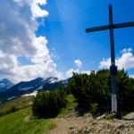 Gipfelkreuz der Abendspitze © Gipfelfieber.com