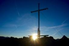 Gipfelkreuz Leonhardstein ©Gipfelfieber