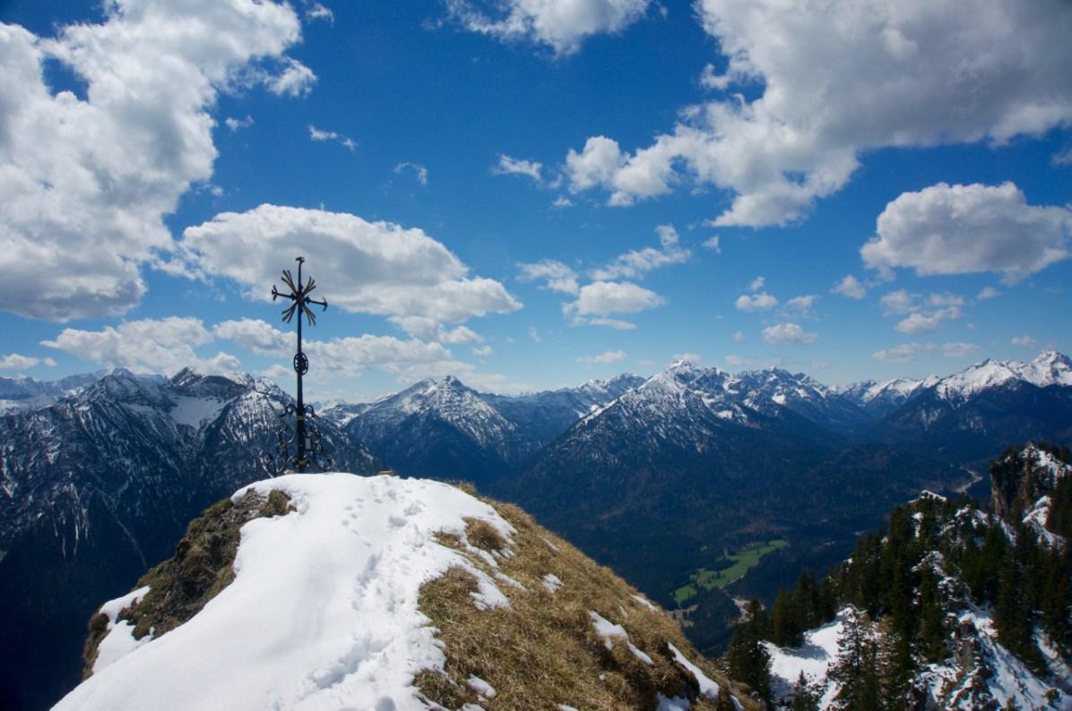 Gipfelkreuz auf dem Sonnenberg ©Gipfelfieber