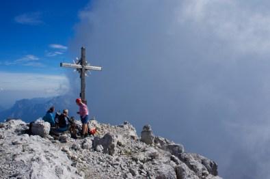 Das Gipfelkreuz vom Großen Ochsenhorn ©Gipfelfieber