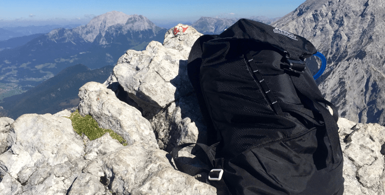 Klettersteigset Im Test : Rucksack für tagestouren: gregory verte daypack im test