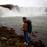 Am Goðafoss mit Gore Thermium ©Gipfelfieber