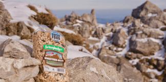 Anzeige: Hoch hinaus mit dem Seitenbacher Bergsteigermüsli ©Gipfelfieber