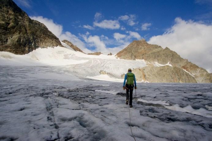 Auf dem Gletscher ©Gipfelfieber
