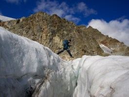 Gletscherspaltenhüpfen ©Gipfelfieber