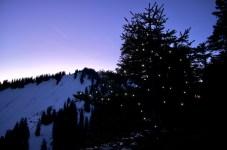 Der Weihnachtsbaum auf der Krettenburg ©Gipfelfieber