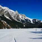 Der zugefrorene Antholzer See ©Gipfelfieber