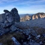 Steinmandl zeigt dass man richtig ist ©Gipfelfieber