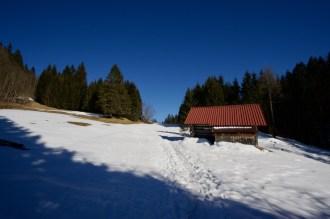 Aufstieg hinter dem Geroldsee ©Gipfelfieber