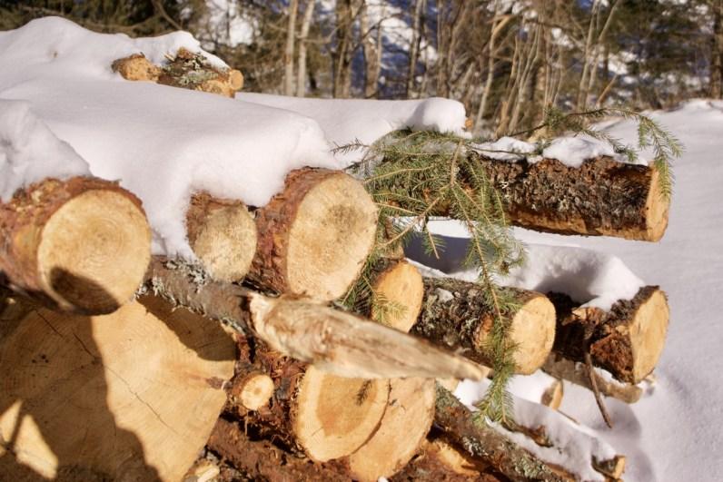 Holzstapel ©Gipfelfieber