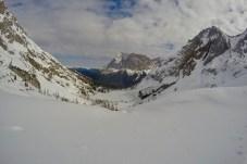Wieder im Rücken: Die Zugspitze ©Gipfelfieber