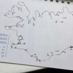 JourneyBook Island Karte ©Gipfelfieber