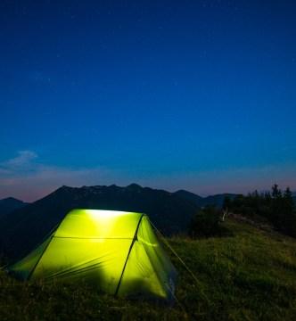 Die Nacht bricht herein ©Gipfelfieber