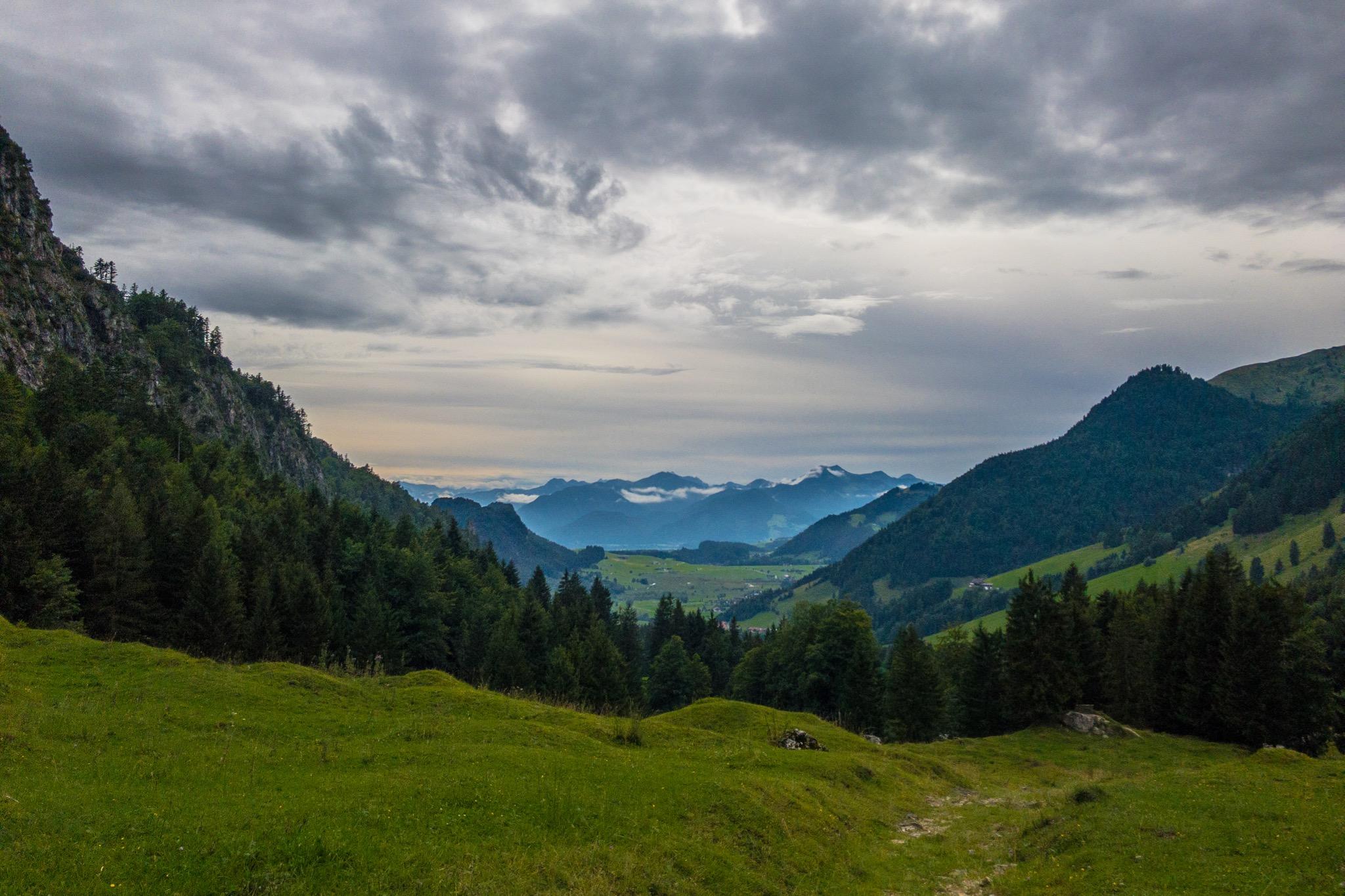 Klettersteig Chiemgau : Harauer spitze: der direttissima klettersteig für hartgesottene
