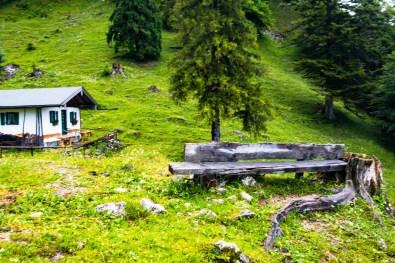 Kleine Hütte der Brandlbergalm ©Gipfelfieber