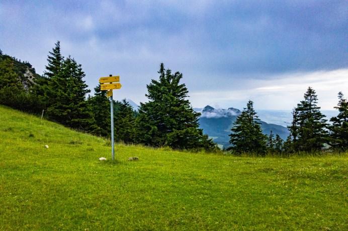 Am Sattel zwischen Spitzstein und Brandlberg ©Gipfelfieber
