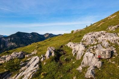 Recht flach zum ersten Gipfel ©Gipfelfieber