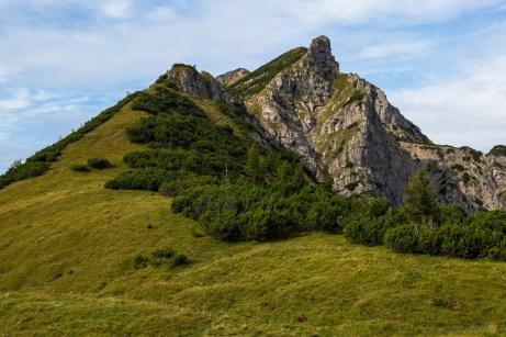 Der markante Turm vom Wildenkarsattel ©Gipfelfieber