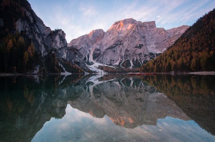 Pragser Wildsee: Reflektion in Perfektion