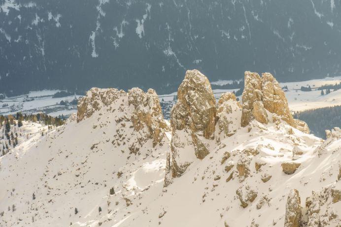Felstürme über dem Fassatal ©Gipfelfieber