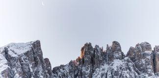 Mond über dem Latemar ©Gipfelfieber