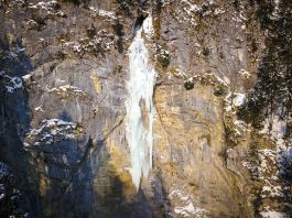 Tiefgefroren: Eiszauber an der Schossrinn ©Gipfelfieber
